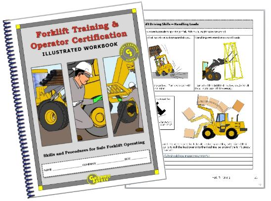 Graphic Forklift Operator Certification Workbook